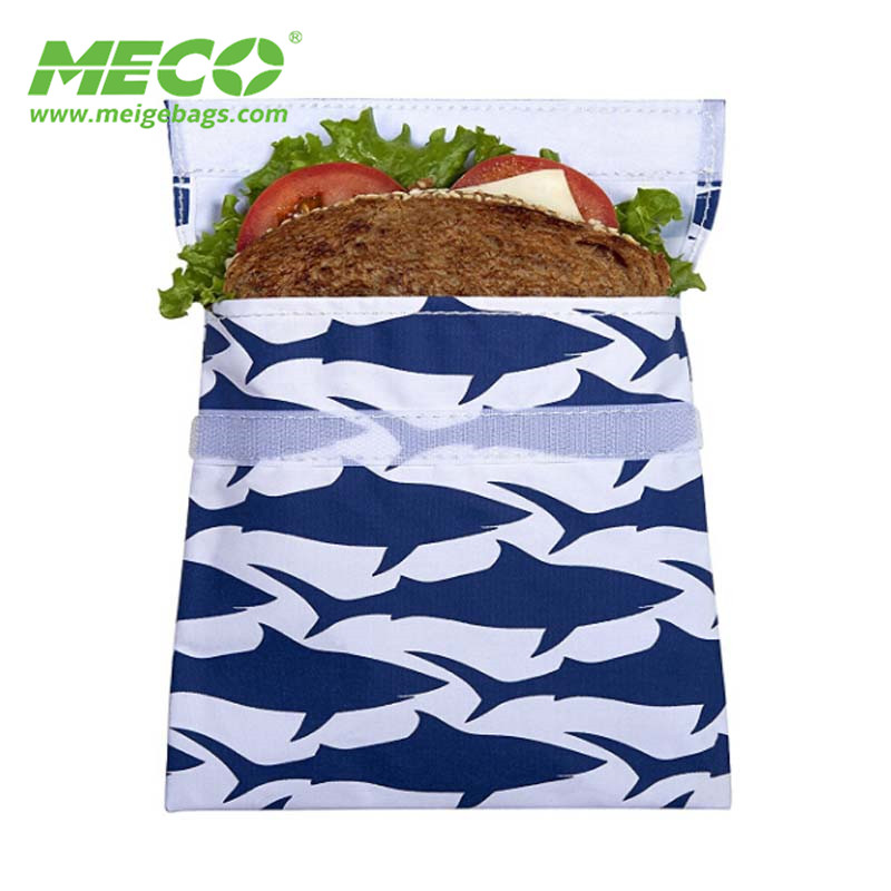 Cheap Reusable Fabric Sandwiches And Snack Bags, Snack Packaging Bags
