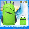 Outdoor hiking foldable camping backbag waterproof foldable backpack