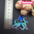 Fashion Jewelry Austrian Crystal Blue Octopus Brooch Pin