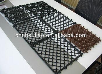 Mattonelle di plastica base giardino delle mattonelle di plastica