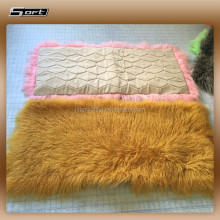 China modern Tibetan sheepskin rug Real mongolian lamb fur rug