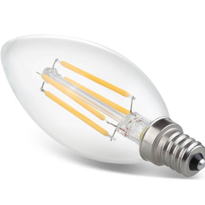 4w Filament Bulb E12 Led Candle Light Type B