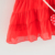 Wholesale pink sleeveless baby lovely chiffon dress cheap summer boutique infant girls' dresses with strawberry shoulder bag
