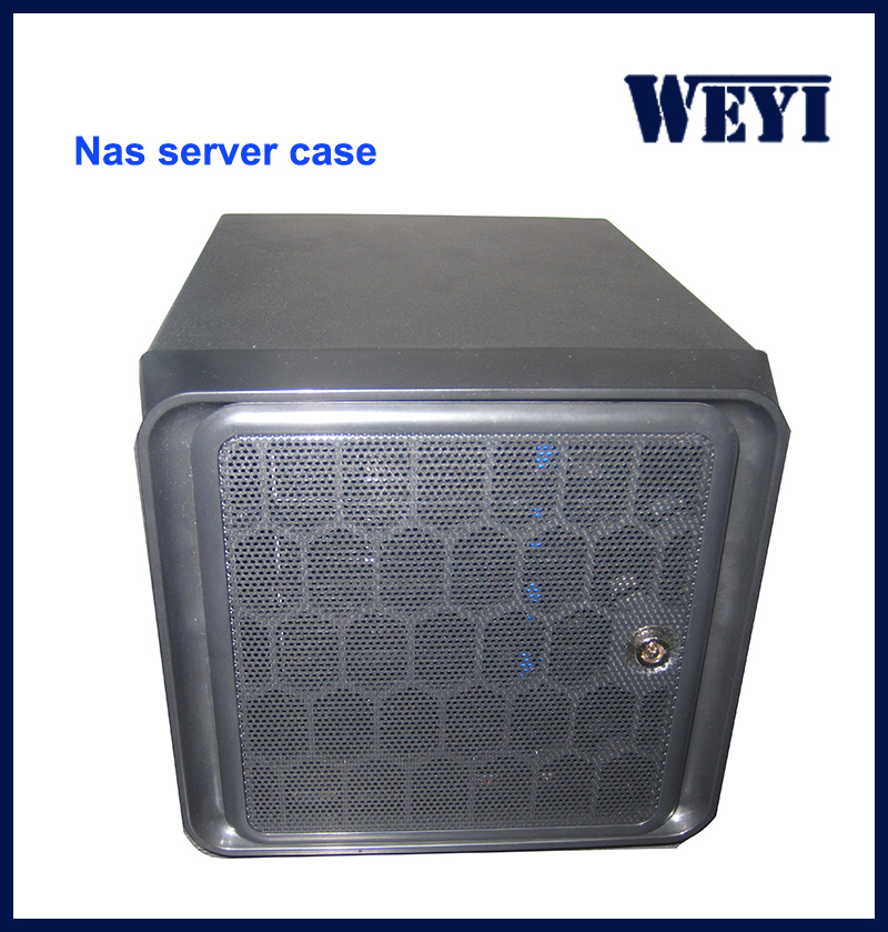 Full tower server case nas case with mini itx chassis SATA / SAS HDD support