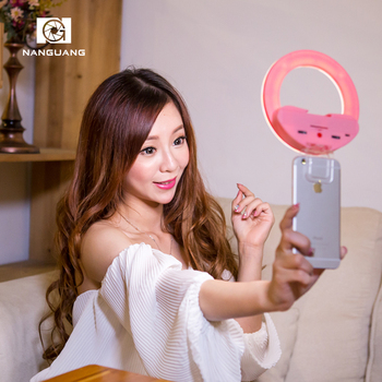 best selling products 2017 in usa Portable NanGuang mini rechargeable ring light CN-MP32C Bi color amazon best sellers