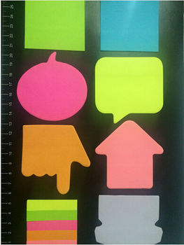 best selling sticky notes in different shapes letter shaped sticky