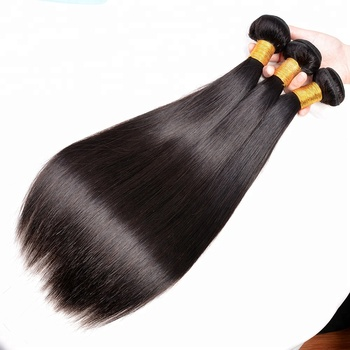 Wholesale Cheap Price High Quality 7A Grade Natural Color Straight Wave brazilian Human Hair Weave Bundles