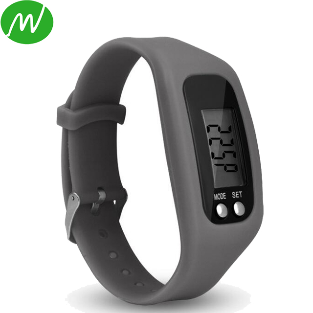 Watches Motivated Hot Digital Lcd Pedometer Run Step Walking Distance Calorie Counter Watch Bracelet Silicone Wristband Children Kids Gift