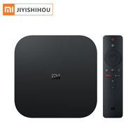Global Version Xiaomi Mi TV Box S Smart 4k HD Android 8.1 Smart Internet Box for TV