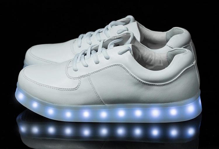 Sneakers Met Licht : Verjaardagscadeau led schoenen met licht oplaadbare led schoen