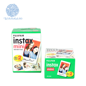 Full color ISO 800 Film speed Fujifilm instax mini film 20sheets twin pack plain edge film paper