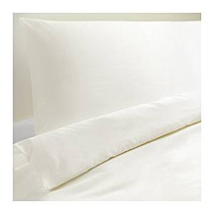 Get Quotations Ikea Dvala 3pc Queen Duvet Covers 100 Percent Cotton White Cover