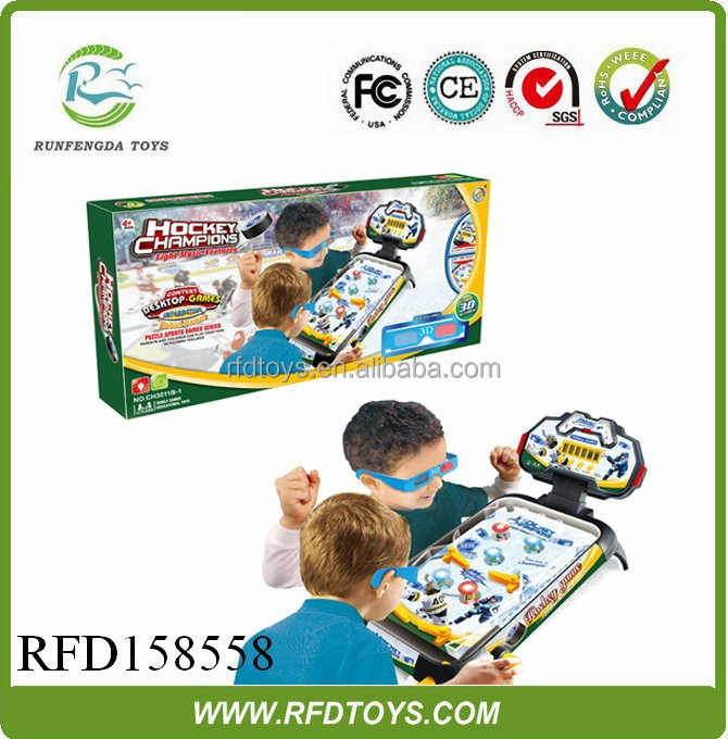 Newest plastic table football game for kids,plastic desktop football game
