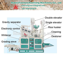 Professional rice milling machine supplier the best price mini rice mill