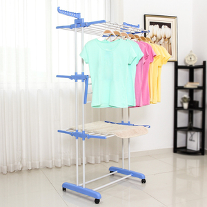 Balcony Laundry Rack Towel Hanger Dryer Baby Clothes Rack Electric Clothes Drying Rack