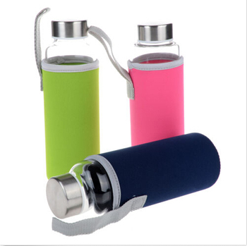 623f7ab90 Hot High Borosilicate Glass Drinking Water Bottle