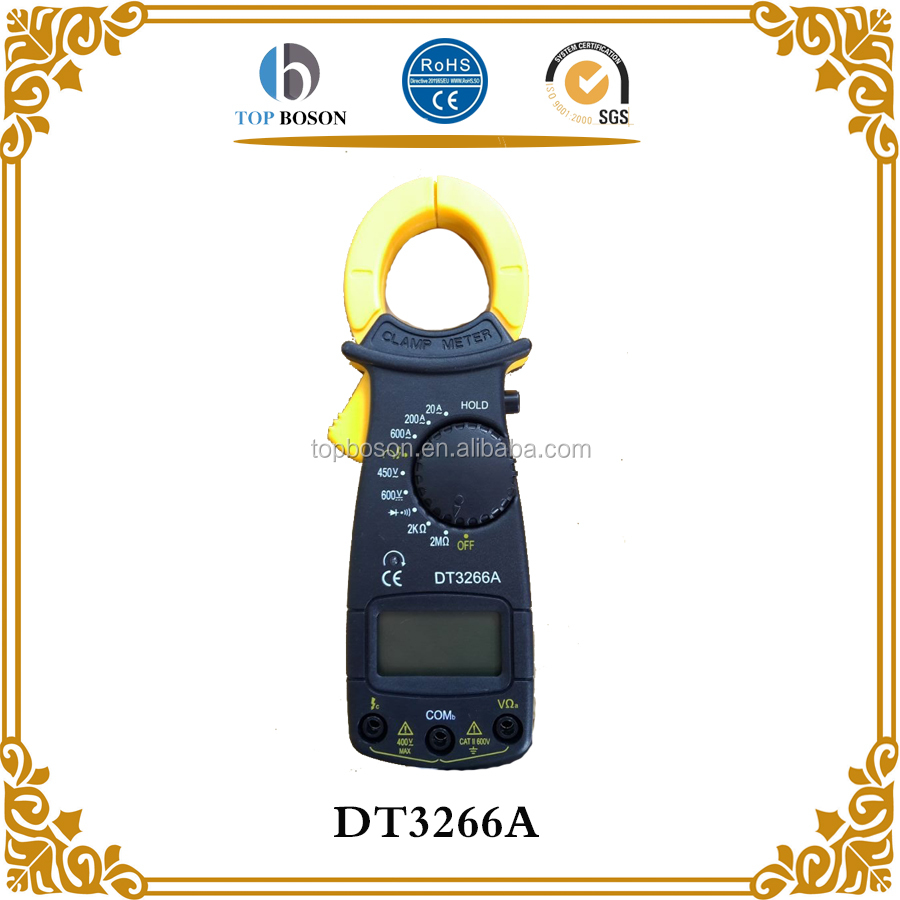 Mini AC Current Transducer Clamp Meter Test DT3266A