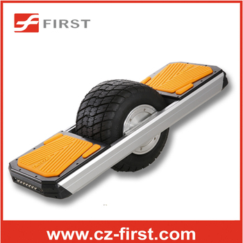 2015 New arrival orange self balancing hover board one wheel electric scooter