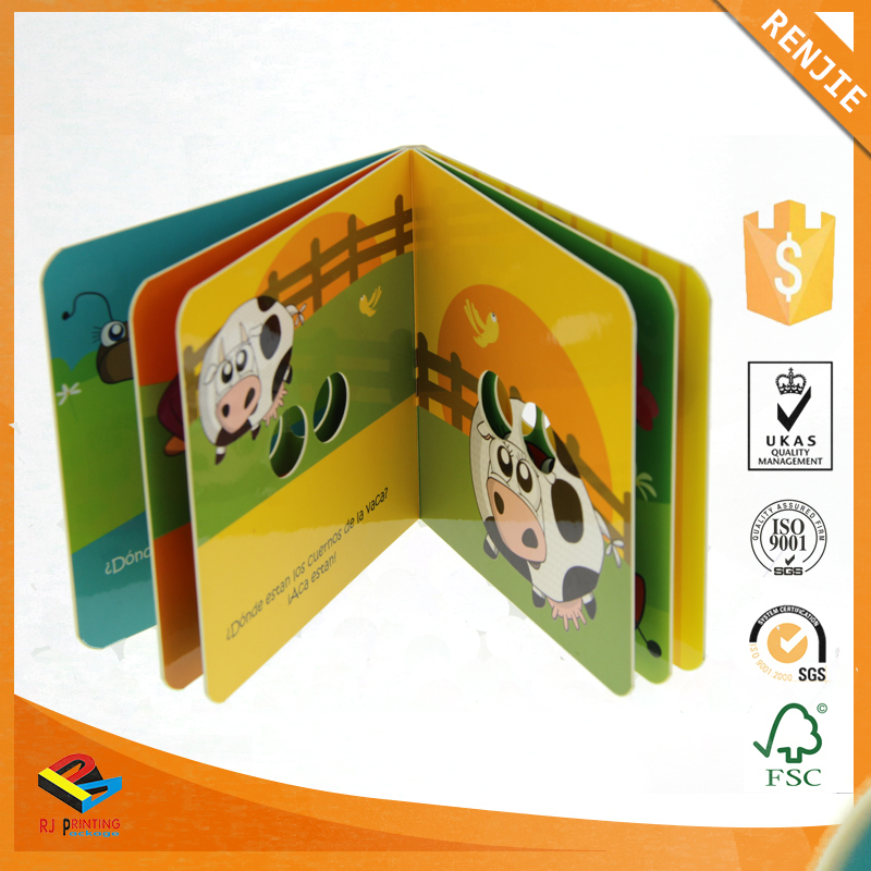Wholesale Cheap Price company customized hard cover book printing