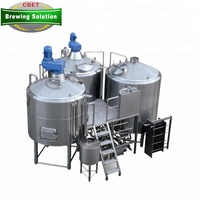 15BBL 15HL 1500L stainless steel material home used 20l beer brewing equipment with CE ISO UL
