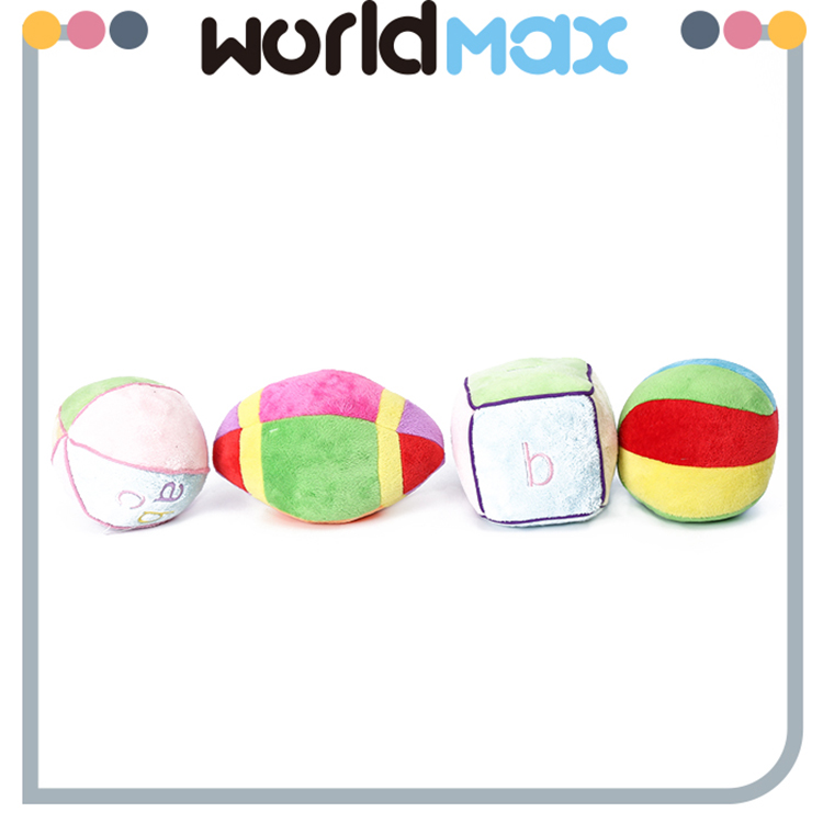 Latest Design Fashionable Ball Series Soft Baby Plush Toy
