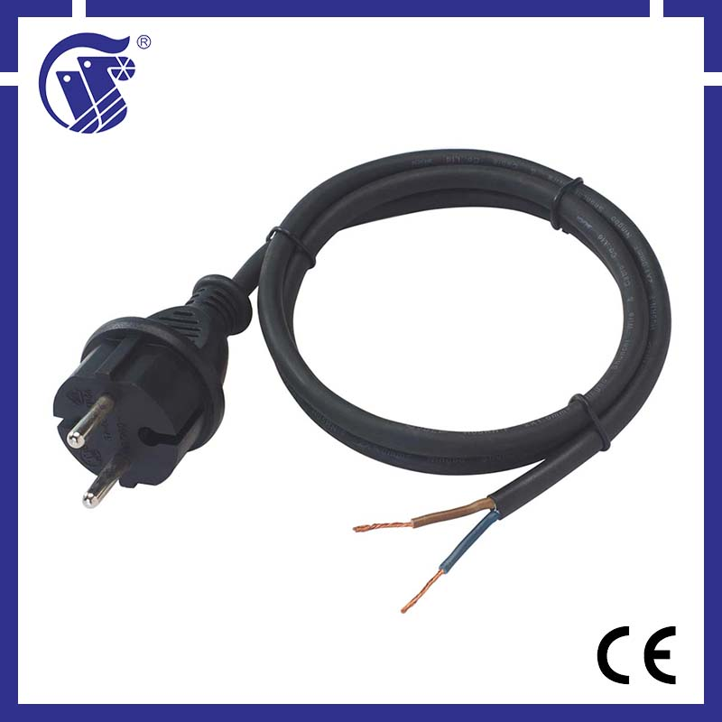 2 pin plug/power cord schuko