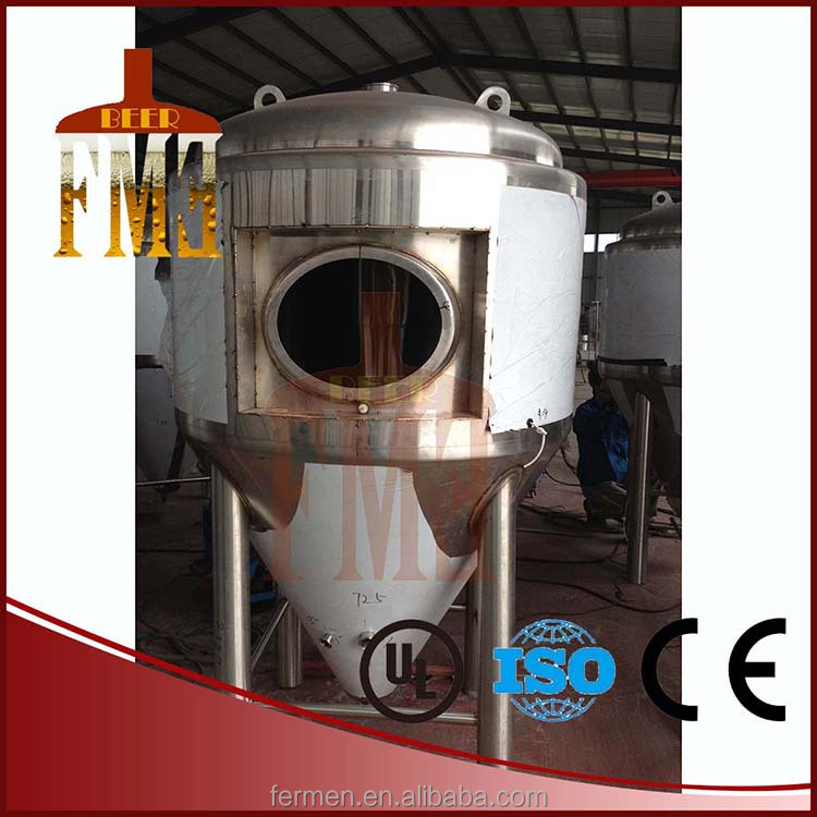 500l Industrial Heating By Gas Mash System,Mash Tun,Kettle,Whirlpool Beer Making Machine