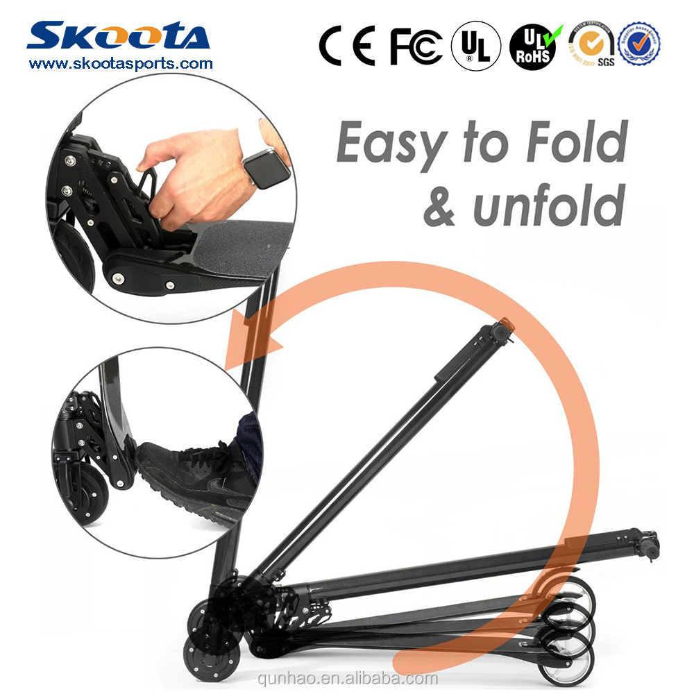 Skoota 2016 new The Extremely Lightest Carbon Fiber Electric Scooter Jack hot