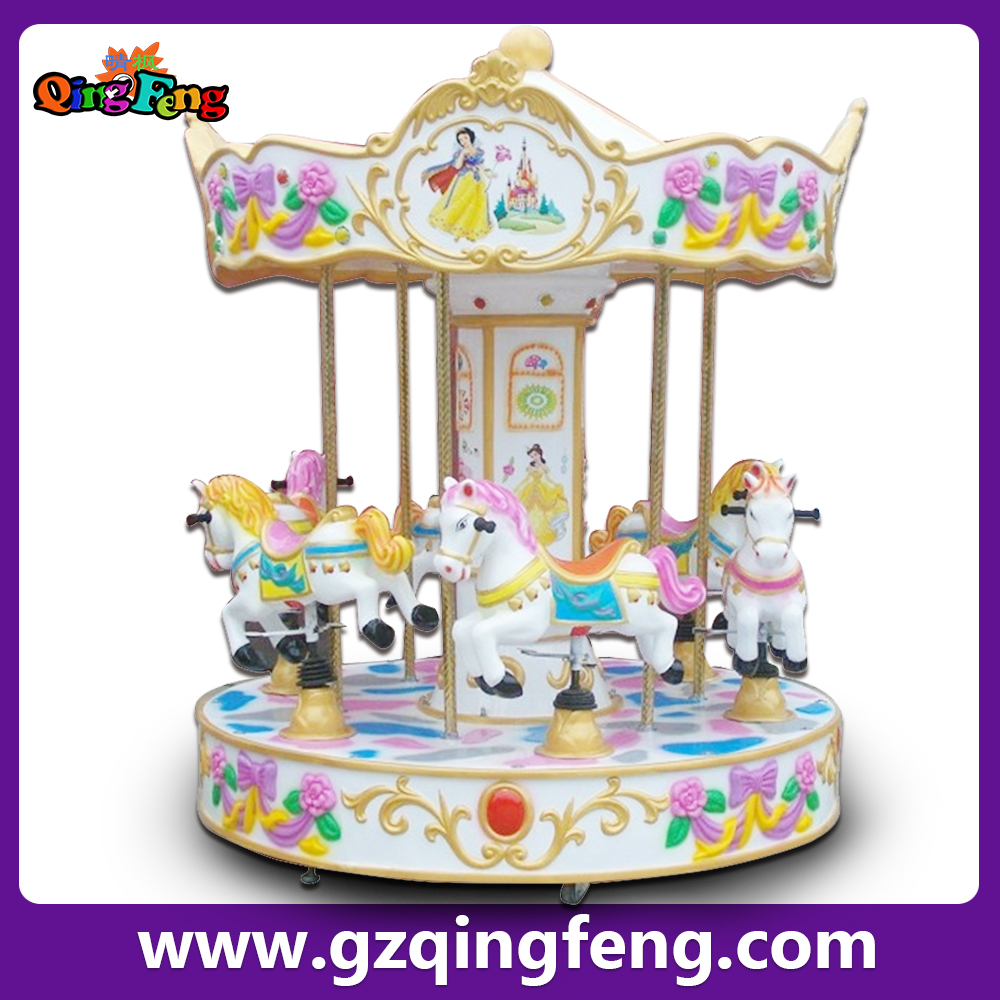 Qingfeng attraction equipment rides carousel horse ride realistic dinosaur models