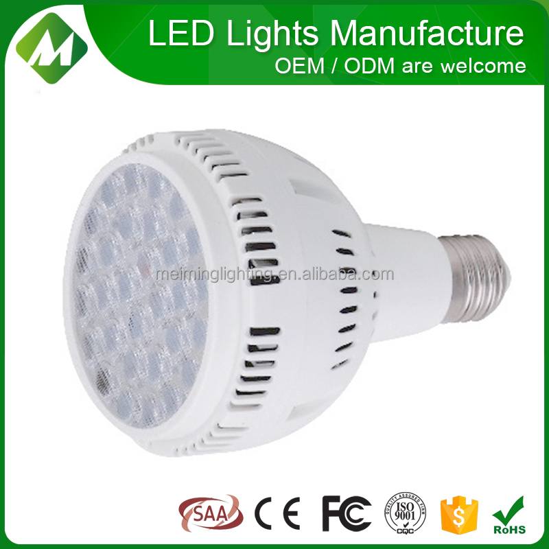 OEM ODM par 38 par 30 led/led par light/e27 par38 led light