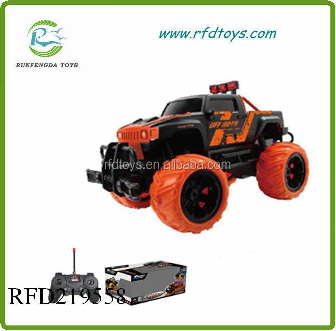 Electric powerful plastic racing toy rc model car
