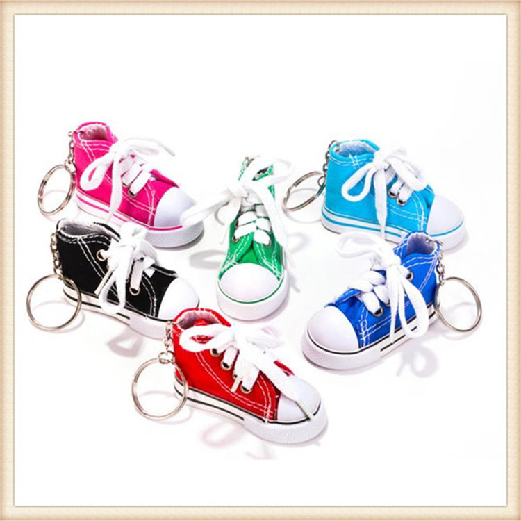 Hot selling mini 3d sneaker keychain wholesale