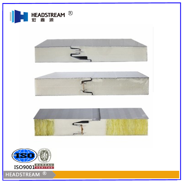 Heat Insulation Color Steel Heat Resistant Kitchen Wall Panels With CE  Certificate