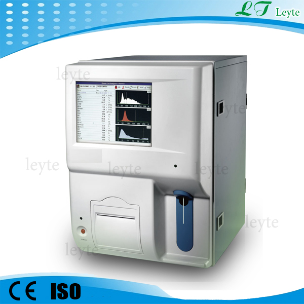LT6300 two channels 3-diff blood cell counting machine