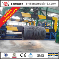 steel wire rope manufacturer max rebar tier rb395 10mm rebar iron steel and rod