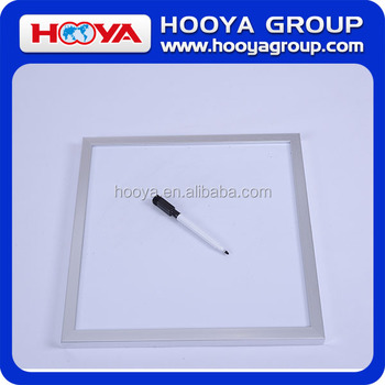 Dry Erase Writing Board for business and school with white board and a marker pen