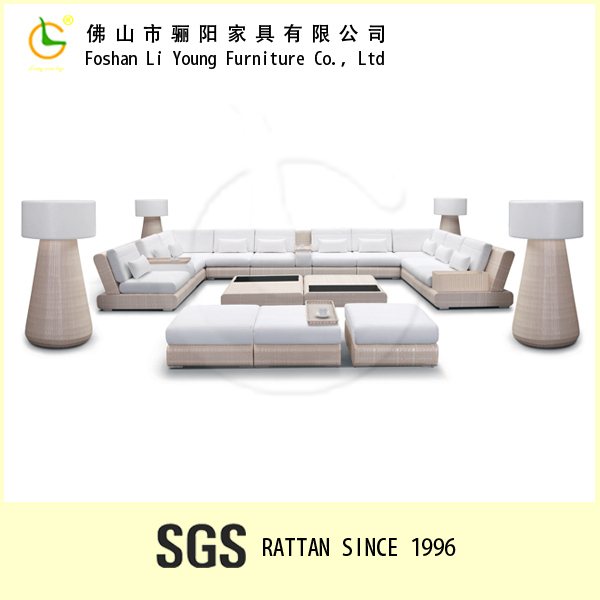 Import Outdoor Rattan Furniture From China,Wicker Garden Sofa Set,Royal Recliner Sectional Sofa
