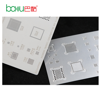 BAKU New Product A8/A9/A10 Universal BGA Mobile IC Reballing Stencil For iphone 6/6plus /6s/6splus /7/7plus