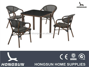 Nice High Quality Outdoor Dining Funiture Set 4pcs Chairs Table Set Buy Fab