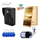 Good Quality TCP/IP WIFI Video Door Phone With RFID Card Reader Access Control Systems Remote Control Door Bell