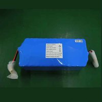 Customized Rechargeable 18650 11.1V 60 Ah lithium ion battery for AA lithium lipo battery vacuum cleaner