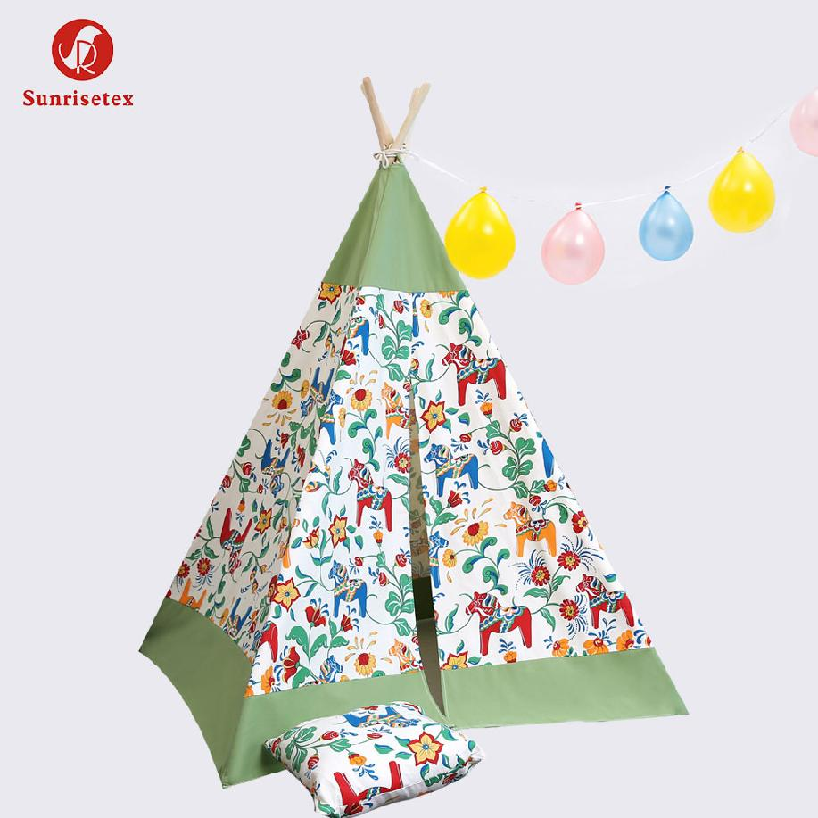 portable folding princess play tent for children kids castle cubby play house