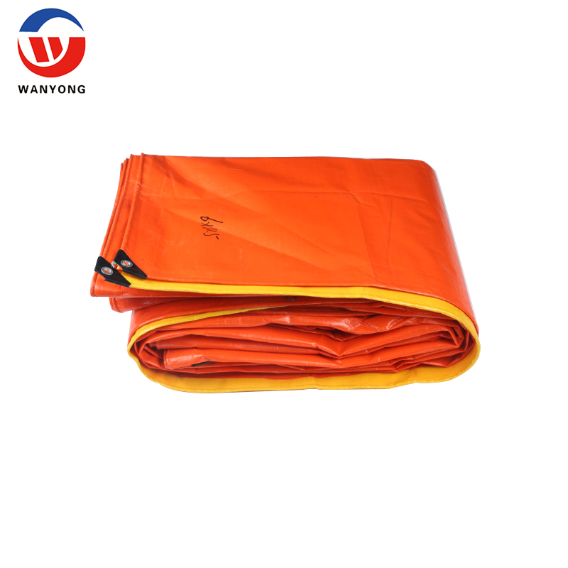 heavy duty UV stable PE plastic canvas fabric  tarpaulin from china suppliers