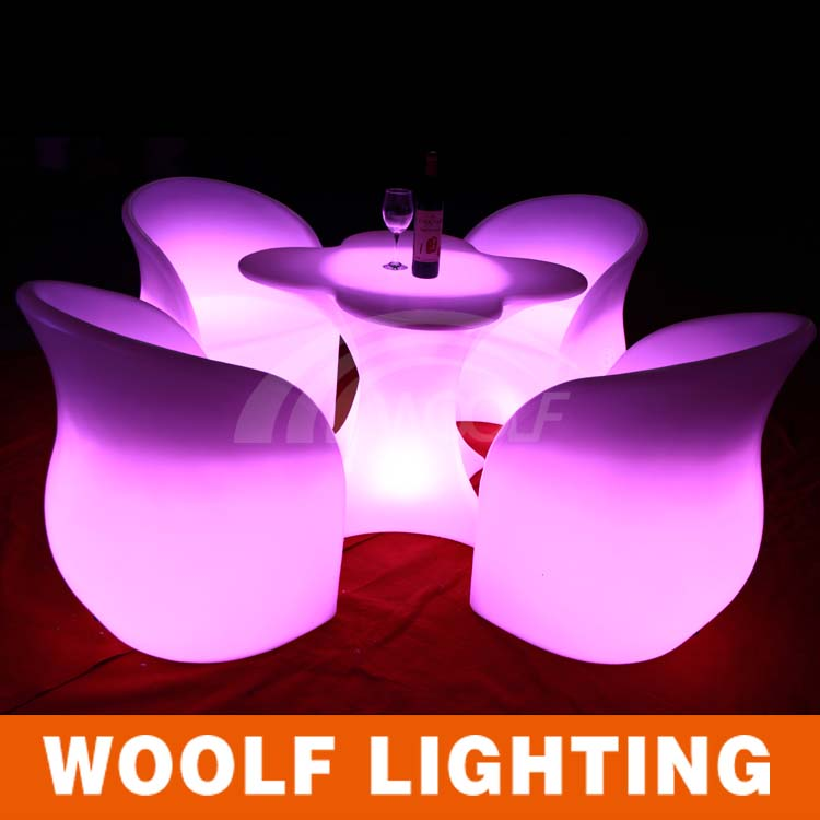 illuminated furniture led furniture led dinner table led dinner