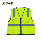 promotion safety clothing for men hi visibility reflective vest construction workwear traffic warning waistcoat security uniform