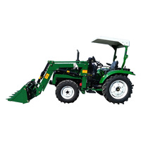 Tractor with loader 80hp bucket good quality
