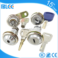 2016 High security Zinc Alloy Metal mailbox post cabinet door lock tubular cam lock Cylinder lock