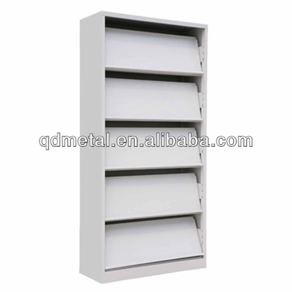 Factory directly-sale metal grocery store shelf metal shelf for magazine display