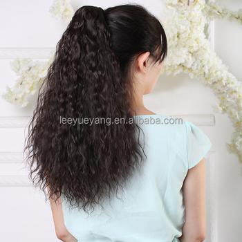 Corn wave wrap around ponytail clip in hair extensions one piece corn wave wrap around ponytail clip in hair extensions one piece curly binding tie up pony pmusecretfo Choice Image