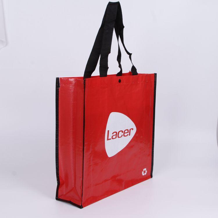 Pp tessuto shopping bag, laminato pp sacchetto non tessuto, fashionalrecyclable cina laminato pp sacchetto tessuto